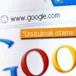 Google'dan İsim Silme Hizmeti
